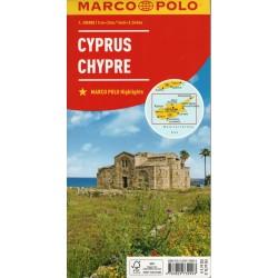 Marco Polo Kypr 1:200 000 automapa