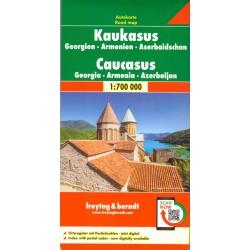 Freytag & Berndt Kavkaz, Gruzie, Arménie, Azerbajdžán 1:700 000 automapa