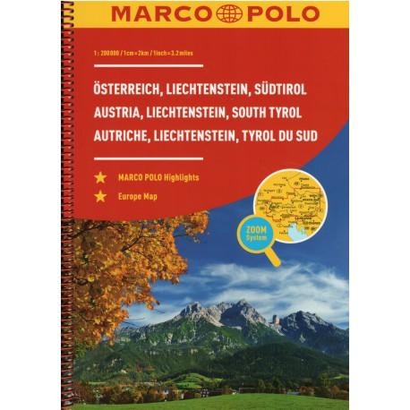 Marco Polo Rakousko 1:200 000
