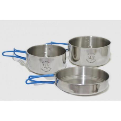 VAR (ALB Forming) Makalu - nerezové nádobí trojdílné (2)