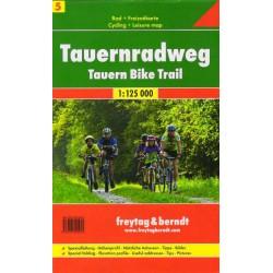 Freytag & Berndt Tauernská cyklostezka (Tauern-Radweg) 1:125 000