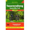 Freytag a Berndt 5 Tauernradweg/Tauernská cyklostezka 1:125 000 cykloturistická mapa