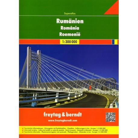 Freytag & Berndt Rumunsko, Moldavsko 1:300 000 autoatlas