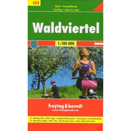 Freytag & Berndt 102 Waldviertel 1:100 000