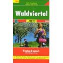 Freytag a Berndt 102 Waldviertel 1:100 000 cykloturistická mapa