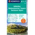 Kompass 223 Sölktäler, Rottenmanner Tauern, Seckauer Alpen 1:55 000 turistická mapa