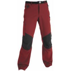 High Point Gondogoro burnt red/black pánské turistické kalhoty DryKeep IBQ/Strongflex IBQ