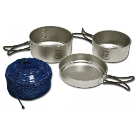 VAR (ALB Forming) Titanium - titanové nádobí třídílné