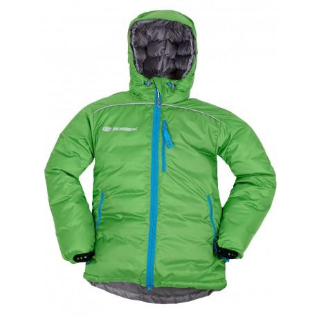 Sir Joseph Gogo II zelená dětská zimní péřová bunda
