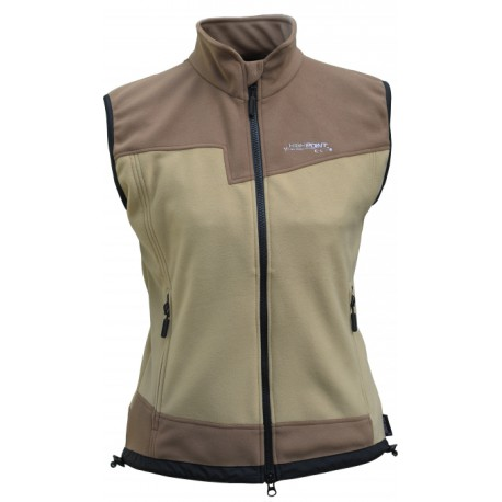 High Point Rock Lady Vest beige/cacao