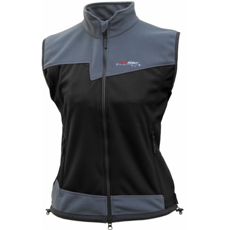 High Point Rock Lady Vest black/dark grey