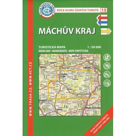KČT 15 Máchův kraj 1:50 000