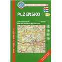 KČT 31 Plzeňsko 1:50 000 turistická mapa