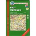 KČT 35 Brdy, Třemšínsko 1:50 000 turistická mapa