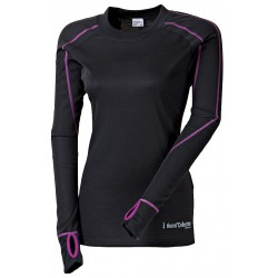 Progress Thermo TC TDRZ černá/fialová dámské triko dlouhý rukáv