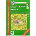 KČT 37 Okolí Prahy východ 1:50 000 turistická mapa