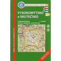 KČT 47 Vysokomýtsko a Skutečsko 1:50 000 turistická mapa
