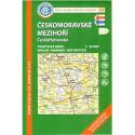 KČT 49 Českomoravské mezihoří, Českotřebovsko 1:50 000 turistická mapa