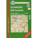 KČT 92 Slovácko, Bílé Karpaty 1:50 000 turistická mapa