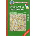 KČT 33 Křivoklátsko a Rakovnicko 1:50 000 turistická mapa