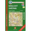 KČT 53 Králický Sněžník 1:50 000 turistická mapa
