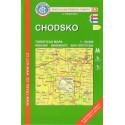 KČT 63 Chodsko 1:50 000 turistická mapa