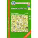 KČT 84 Velkomeziříčsko 1:50 000 turistická mapa