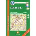 KČT 19 Český ráj 1:50 000 turistická mapa