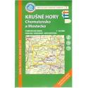 KČT 5 Krušné hory, Chomutovsko a Mostecko 1:50 000 turistická mapa