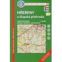 KČT 38 Hřebeny a Slapská přehrada 1:50 000 turistická mapa