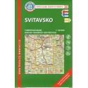 KČT 50 Svitavsko 1:50 000 turistická mapa