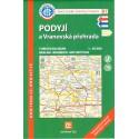 KČT 81 Podyjí a Vranovská přehrada 1:50 000 turistická mapa