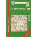 KČT 82 Střední Podyjí 1:50 000 turistická mapa