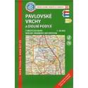 KČT 88 Pavlovské vrchy a Dolní Podyjí 1:50 000 turistická mapa
