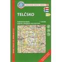 KČT 98 Telčsko 1:50 000 turistická mapa