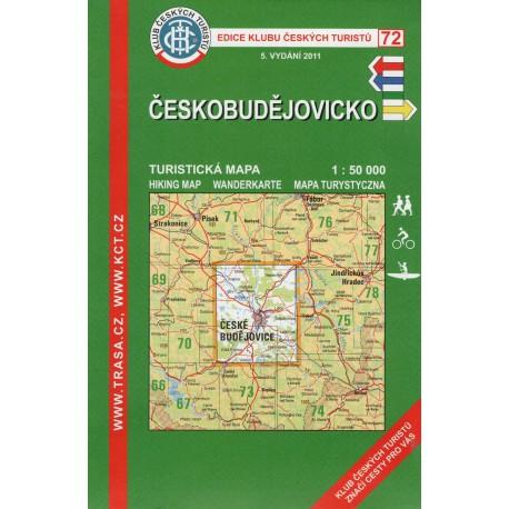 KČT 72 Českobudějovicko 1:50 000