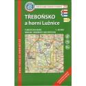 KČT 75 Třeboňsko a Horní Lužnice 1:50 000 turistická mapa