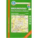 KČT 26 Broumovsko 1:50 000 turistická mapa