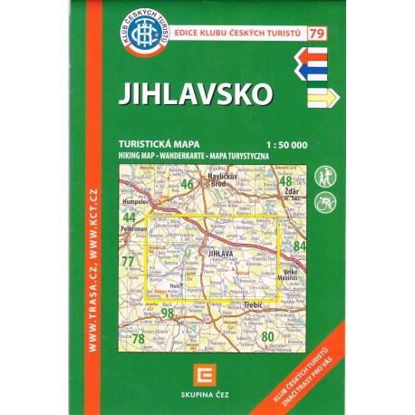 KČT 79 Jihlavsko 1:50 000