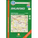 KČT 79 Jihlavsko 1:50 000 turistická mapa