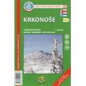 KČT 22 Krkonoše 1:50 000 turistická mapa