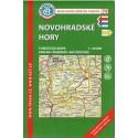 KČT 74 Novohradské hory 1:50 000 turistická mapa