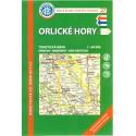 KČT 27 Orlické hory 1:50 000 turistická mapa