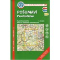 KČT 70 Pošumaví, Prachaticko 1:50 000 turistická mapa