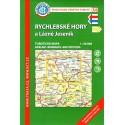 KČT 54 Rychlebské hory a Lázně Jeseník 1:50 000 turistická mapa