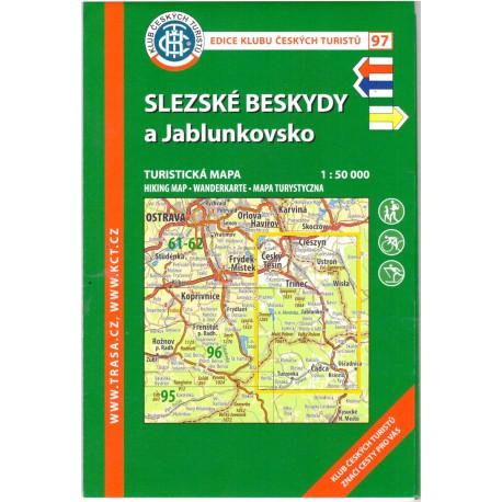 KČT 97 Slezské Beskydy a Jablunkovsko 1:50 000