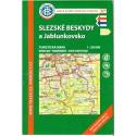 KČT 97 Slezské Beskydy a Jablunkovsko 1:50 000 turistická mapa
