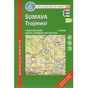 KČT 66 Šumava, Trojmezí 1:50 000 turistická mapa
