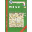 KČT 80 Třebíčsko 1:50 000 turistická mapa