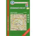 KČT 48 Žďárské vrchy 1:50 000 turistická mapa